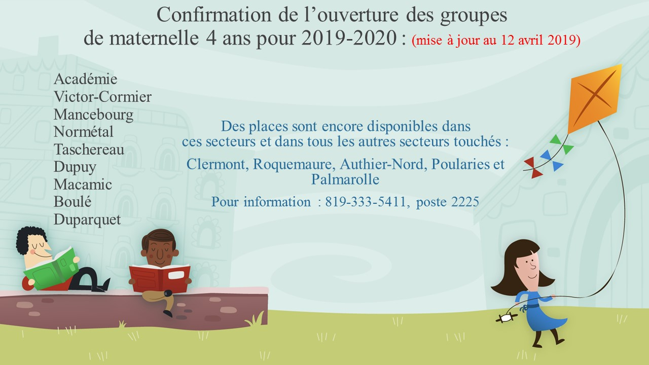 Confirmation de louverture de groupes 12 04 2019 002
